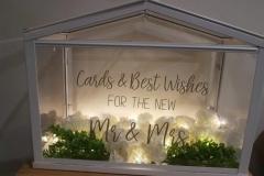 Card wishing well